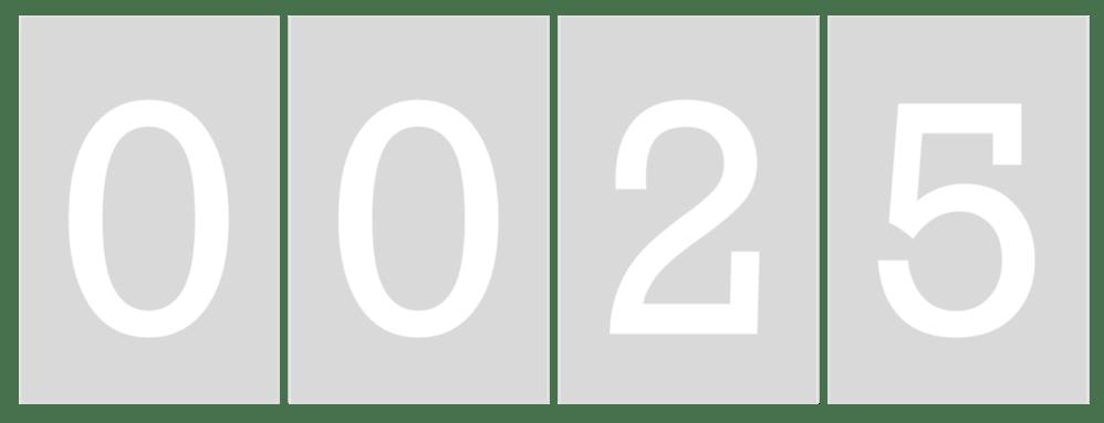 sigcounter25