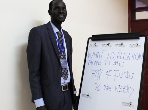 'We need localisation to ensure 70% of Funds get to those in need' Deng Yuott, HDC, Nairobi 19.02.16