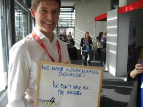 We Need Localisation because We don't have all the answers, Marcus Skinner, Helpage International, Bond Conference UK