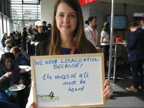 We need localisation because the voices of all must be heard, Bond Conference UK