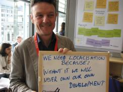 We need localisation because without it we will never own our own development, Bond Conference UK